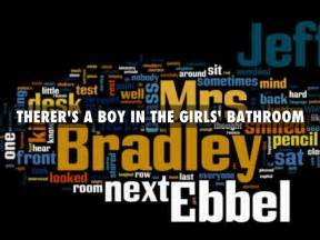there is a boy in the girl s bathroom summary there s a boy in the girls bathroom by brody heichelbec