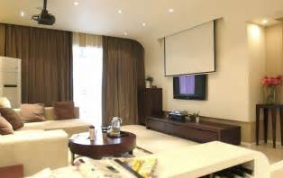 Living Room Tv Or Projector Living Room Design With Projector 3d House Free 3d