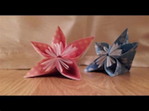 cara membuat origami kusudama how to make an origami japanese kusudama flower tutorial