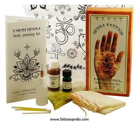 tattoo kit amazon henna kit makedes
