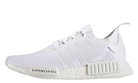 adidas nmd r1 primeknit white japan the sole supplier