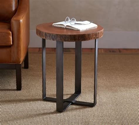 Waller Live Edge Side Table Pottery Barn