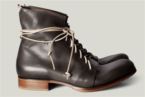 Mens Handmade Boots - handmade leather boots from italy graft footwear