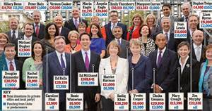 what is shadow cabinet the 163 120m paid into coffers revealed as union barons