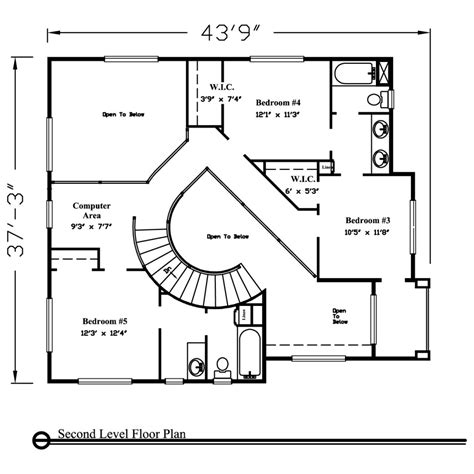 two floor plans two house plans 3000 sq ft home deco plans