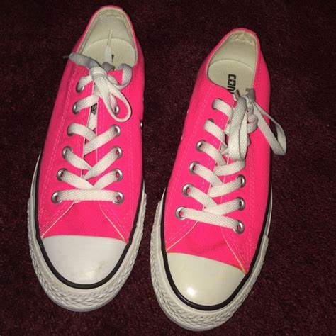 67 converse shoes neon pink converse from liliana s