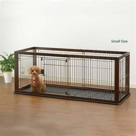 small puppy crate richell expandable pet crate small officialdoghouse