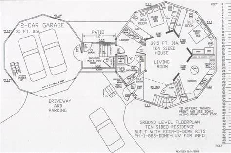 dome house floor plans dome home floorplans