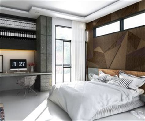unique bedroom interior design wall decor interior design ideas