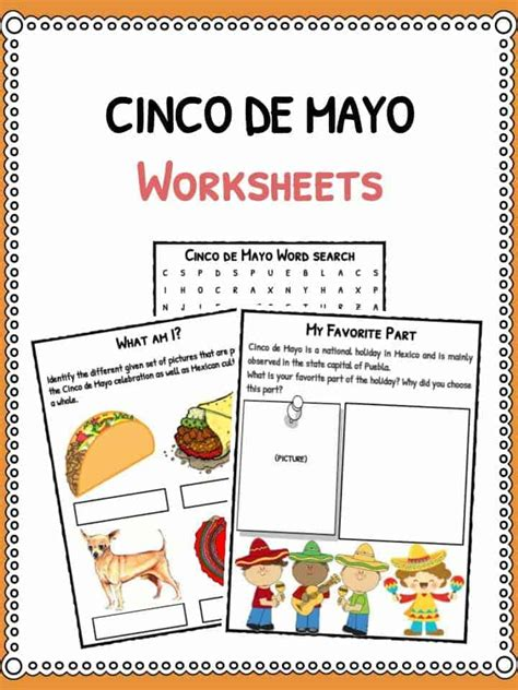 The History Channel Cinco De Mayo Worksheet cinco de mayo history channel worksheet
