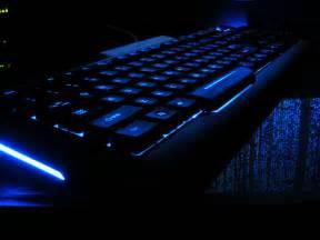 light keyboard blue light keyboard flickr photo