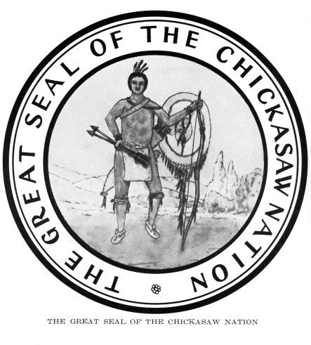 chickasaw tribal tattoos official seals of the five civilized tribes