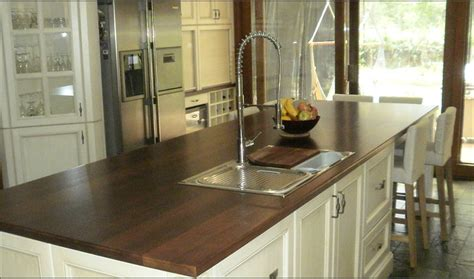 timber bench top traditional french provincial kitchens cdk