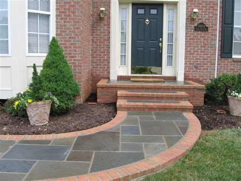 walkway front stoop for the home pinterest