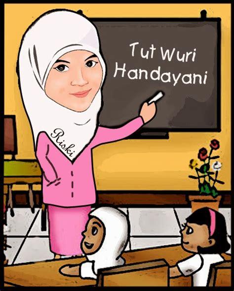 karikatur hari guru gambar gambar guru animasi info baik mengajar di rebanas