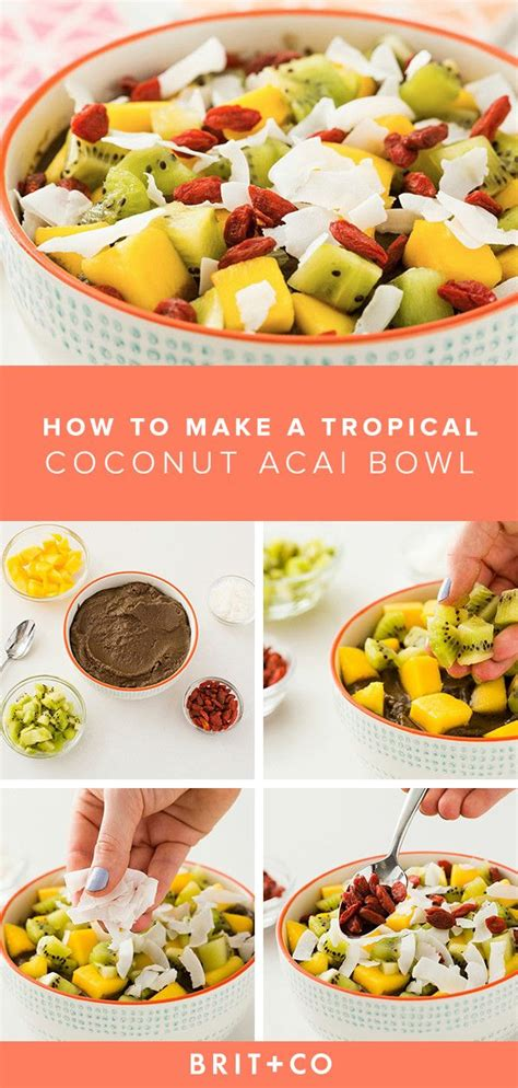 how to make your own acai bowls at home acai bowl