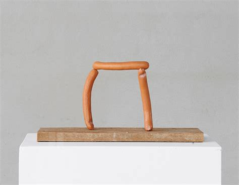 wurms woodworking erwin wurm reimagines the frankfurter for synthesa