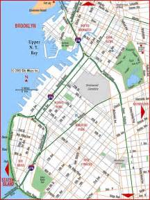 Map Of Brooklyn New York by Road Map Of Brooklyn Bay Ridge Sunset Brooklyn New