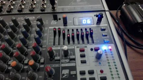 Mixer Behringer Xenyx X1832 Usb review behringer xenyx x1832usb usb mixer with effects