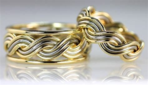 Two Metal Wedding Rings by Wedding Ring Photo Gallery Of Artist Made Rings By Todd Alan