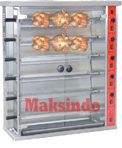 Oven Panggang Gas mesin pemanggang ayam gas rotisseries toko mesin maksindo toko mesin maksindo
