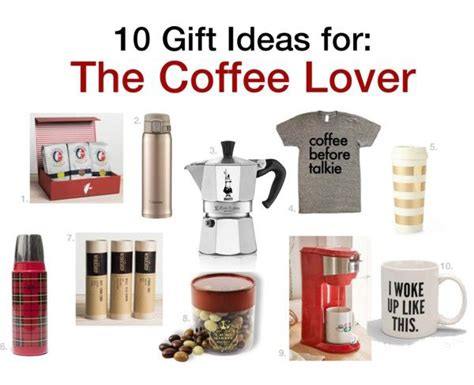 IGNITE Style: 10 Gift Ideas for: The Coffee Lover