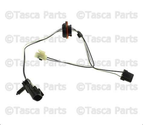 oem mopar headlight wiring harness 68193062ab tascaparts