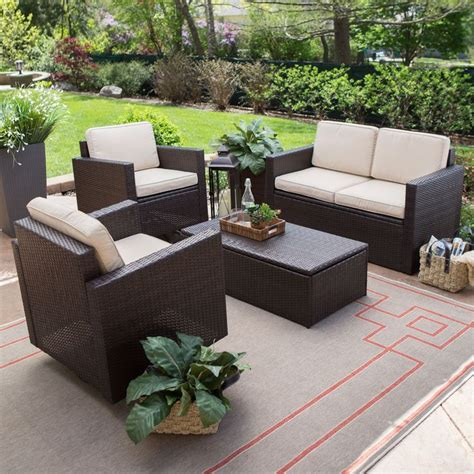 Resin Patio Furniture by 25 Best Ideas About Resin Wicker Patio Furniture On