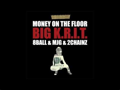 big krit money on da floor screwed and chopped
