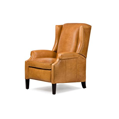 Hancock Leather Recliner by Hancock And 1054 Greyson Recliner Discount Furniture