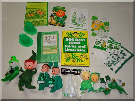 Sale Gift Cards Near Me - irish st patricks day lot books stickers gifts cards decorations handkerchief
