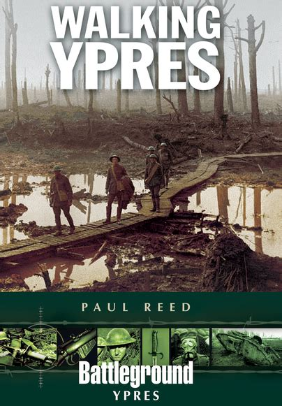 walking ypres battleground i books pen and sword books walking ypres paperback