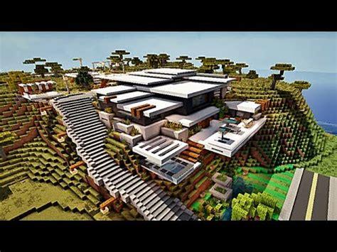 maison montagne minecraft minecraft maison moderne by makapuchii