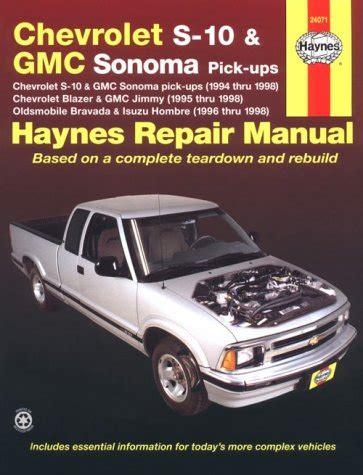 automotive repair manual 1998 gmc jimmy free book repair manuals wolfpine w957 ebook download haynes chevrolet s 10 blazer gmc sonoma jimmy oldsmobile