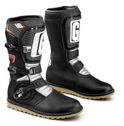 trail bike boots gaerne balance trial boots black trials bike store