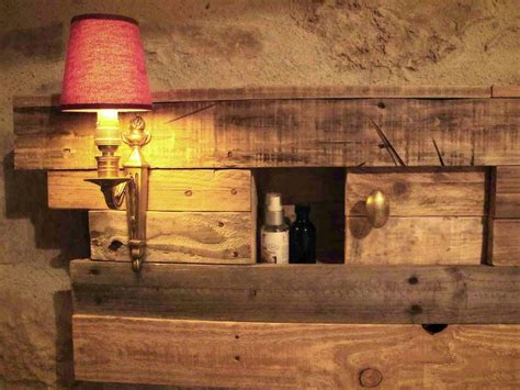 headboard with lights and storage lighting pallets bed headboard with side table pallet