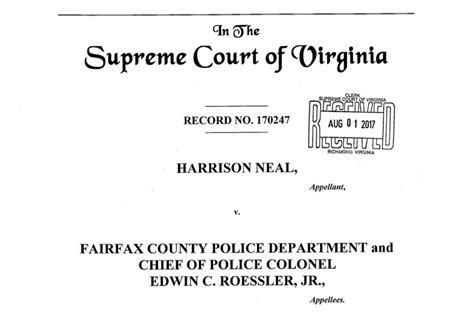 Fairfax Circuit Court Search Aclu Va Asks Supreme Court Of Virginia To Circuit Court Ruling On Automated