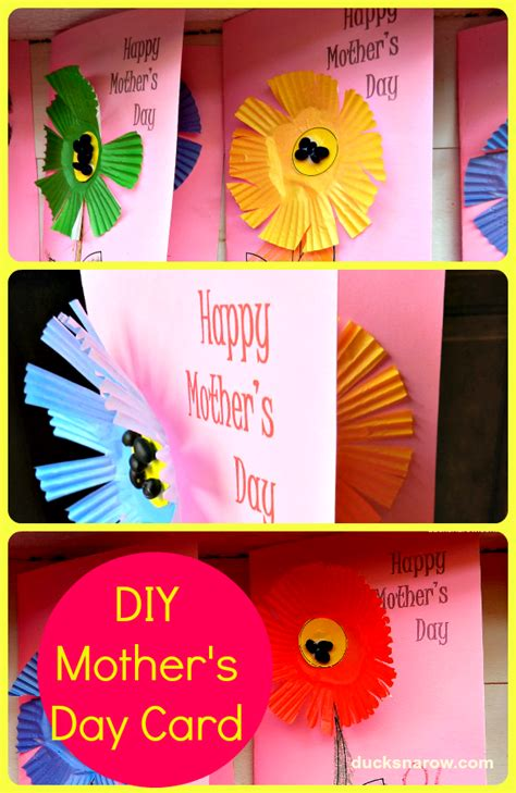 day cards for preschoolers diy s day card for preschoolers ducks n a row