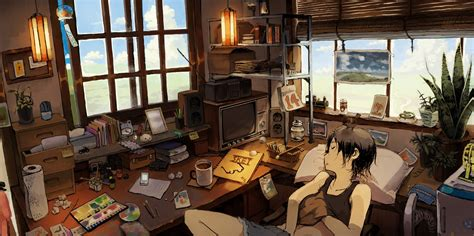 wallpaper anime room 部屋のアニメ anime room girl rooms pinterest room girls