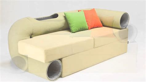cat tunnel sofa cat tunnel couch youtube
