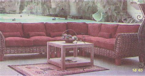 Kursi Eceng Gondok cantknya sofa penerima tamu dengan sofa eceng gondok