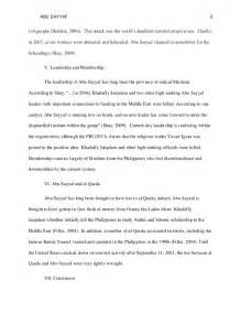 Historical Research Paper Format history motives and tactics of abu sayyaf research paper sle