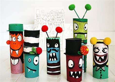 Kid Crafts With Toilet Paper Rolls - 15 toilet paper roll crafts for diy ready