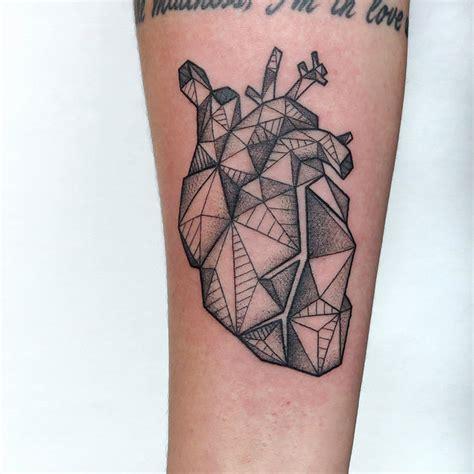 tattoo geometric heart geometric heart tattoo by sameoldkid on deviantart