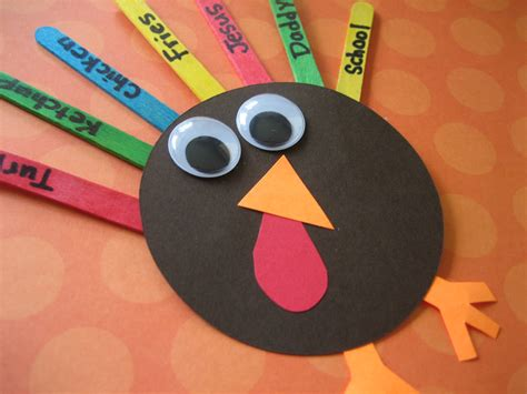 turkish crafts for one more adorable turkey craft happy home