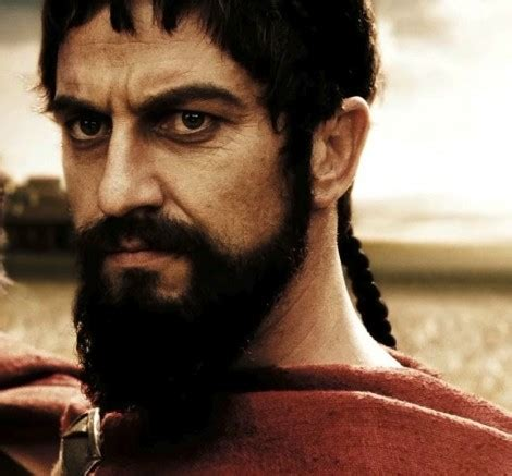 spartan hairstyle men image gallery leonidas 300 beard