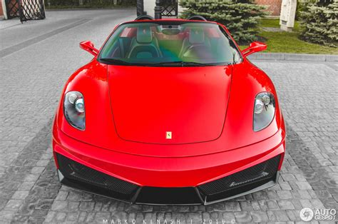ferrari supercar 2016 ferrari f430 spider super veloce racing 28 august 2016