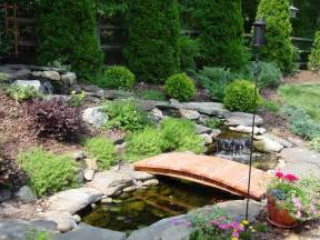 landscaping bridges for landscaped yards