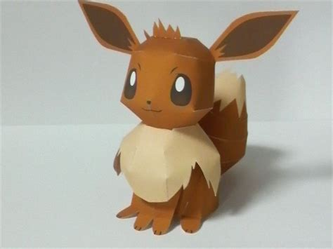 Eevee Papercraft - 1000 ideas about papercraft on 3d