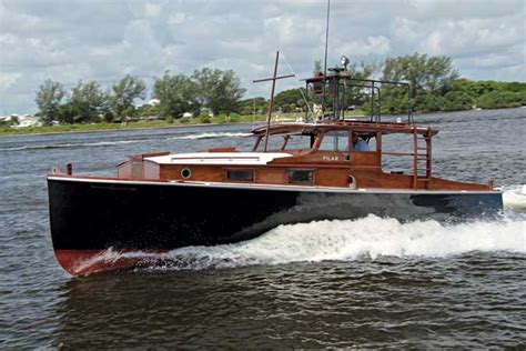 boat making hemingwayhome pilar